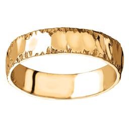 F?rlovningsring i 18K guld 5mm