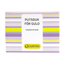 Putsduk för guld