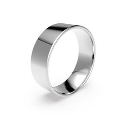 Förlovningsring i platina 7mm