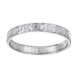 Ring i rhodinerat äkta silver