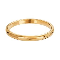 Ring i fögyllt äkta silver
