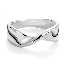 Damring i äkta silver