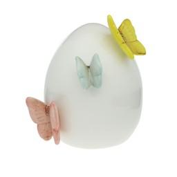 Ägg med fjärilar
