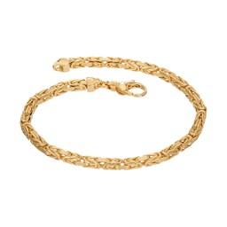 Kejsarlänk i 18K guld 21cm