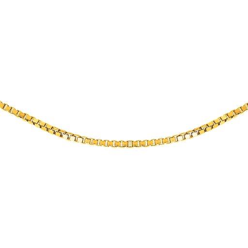 Kedja i 18K guld 42 cm