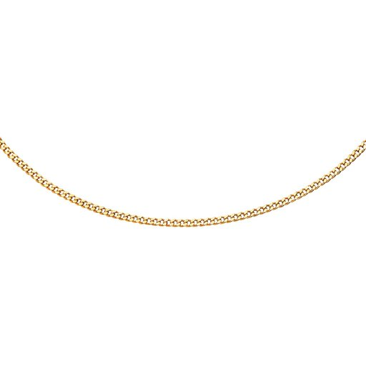 Kedja i 18K guld 50 cm