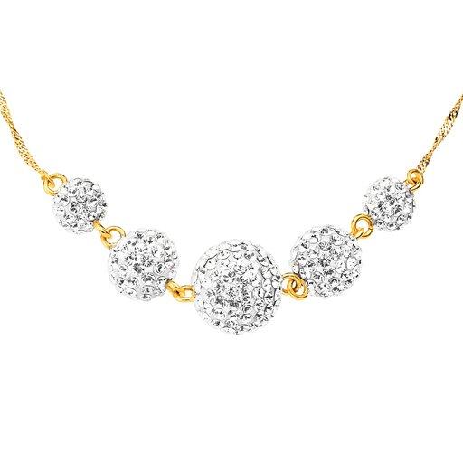 Halsband i 18K guld