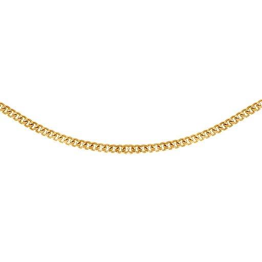 Kedja i 9K guld 38cm
