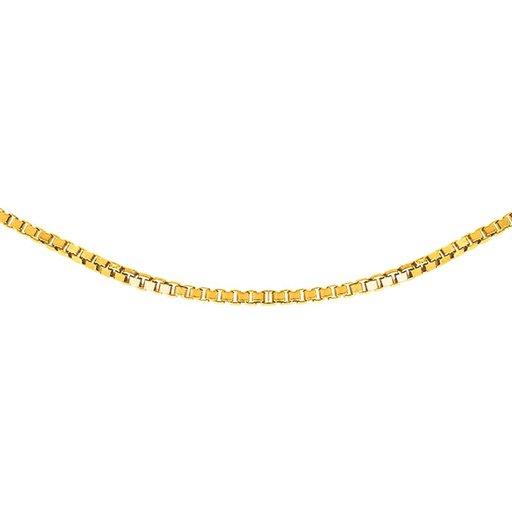 Kedja i 9K guld 70cm