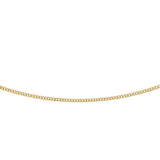 Halsband i 9K guld 48 cm