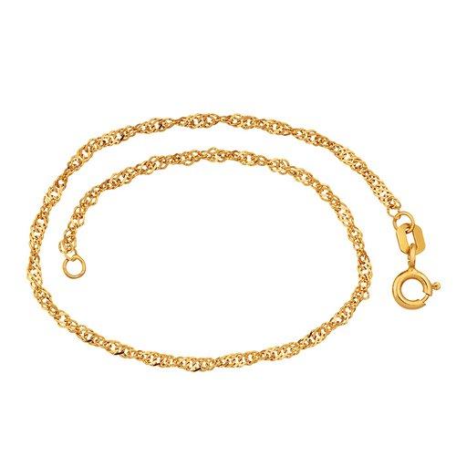 Armband i 18K guld 18cm