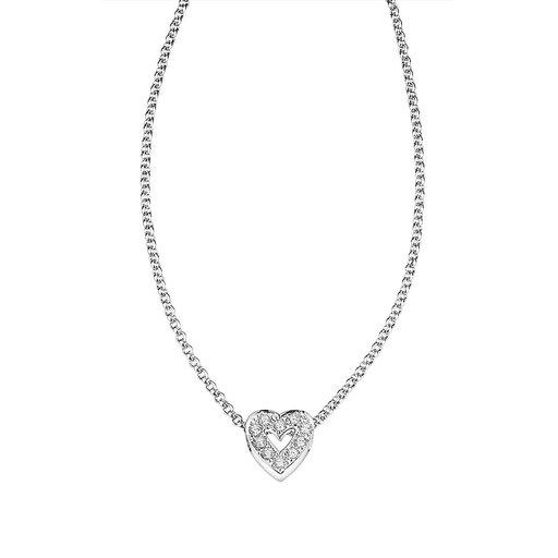 Halsband i äka silver