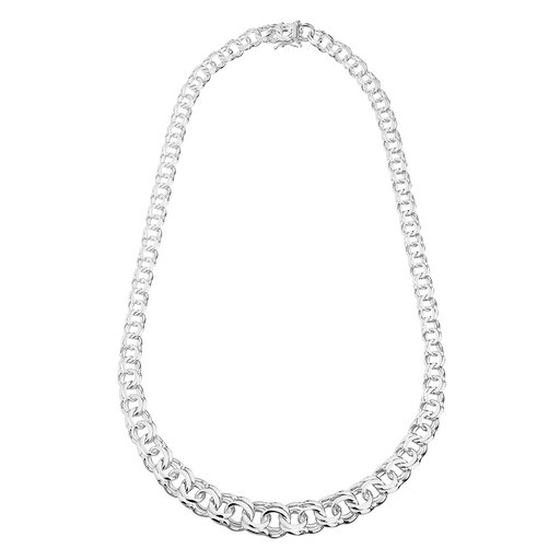Halsband i äkta silver 45 cm