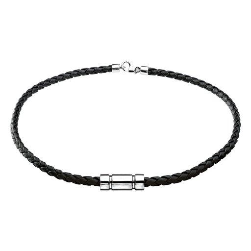 Halsband i läder