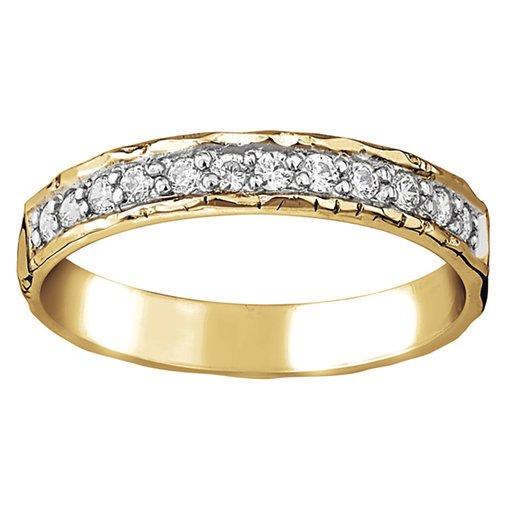 Diamantring i 18K guld Sarek