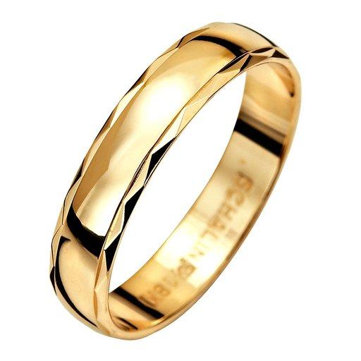 Förlovningsring i 9K guld