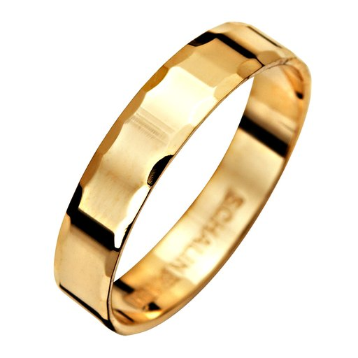 Förlovningsring i 9K guld 4mm