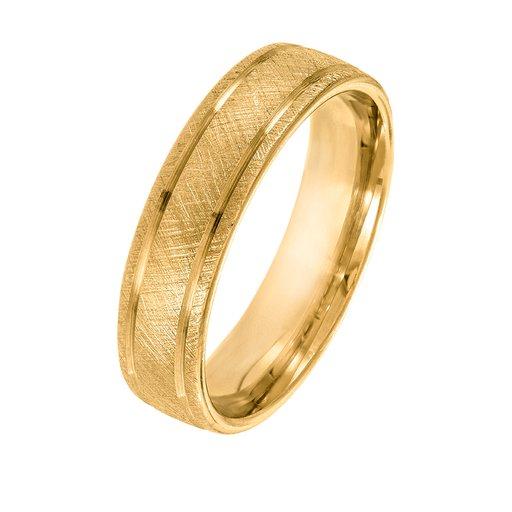 Förlovningsring 9K guld 5mm