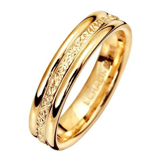 Förlovningsring 18K guld 4,5mm