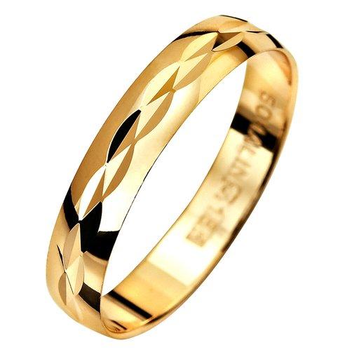 Förlovningsring 18K guld 3,5mm