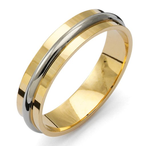 Förlovningsring i 18K guld 4,5mm