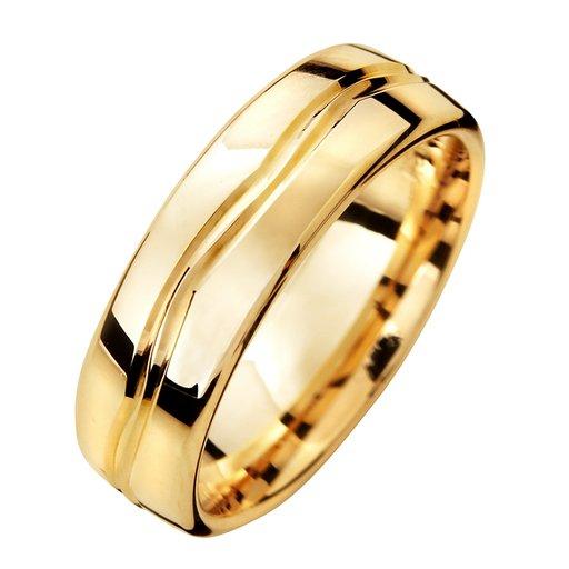 Förlovningsring 18K guld 6mm