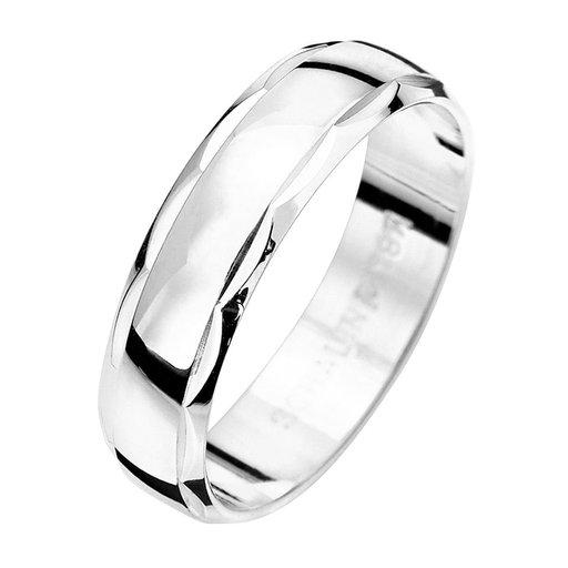 Förlovningsring i äkta silver 5mm