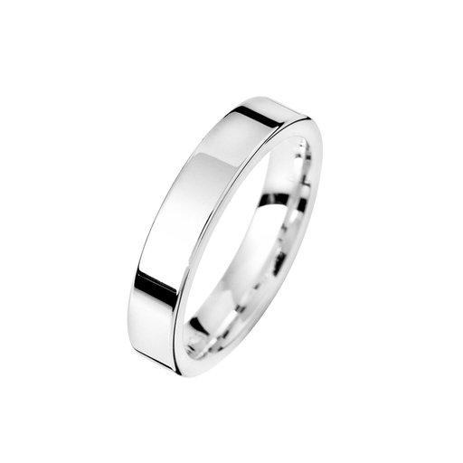 Förlovningsring i äkta silver 4mm