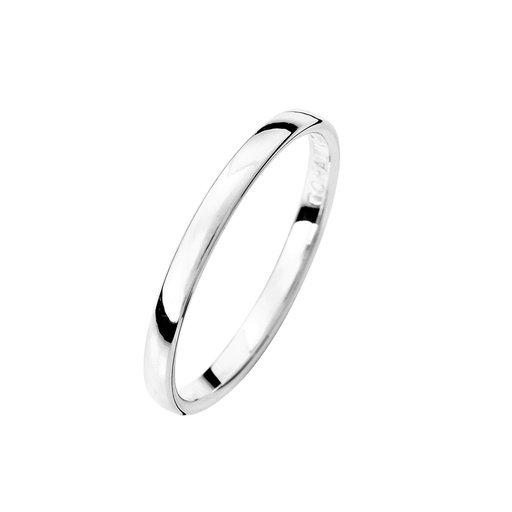 Förlovningsring i äkta silver 2mm