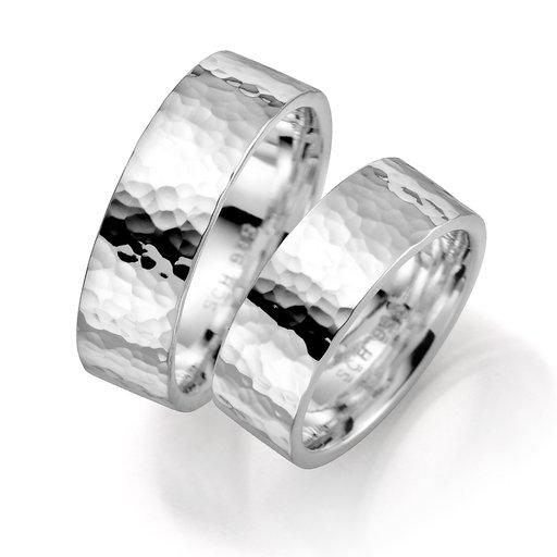 Förlovningsring i äkta silver 7mm