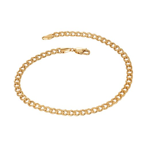 Armband i 9k guld 21cm