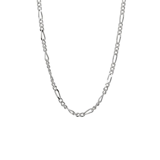 Halsband i äkta silver 42+3cm