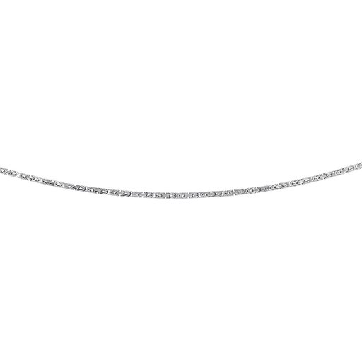 Halsband i äkta silver 55 cm