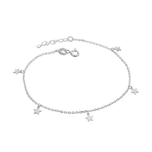 Armband i älta silver