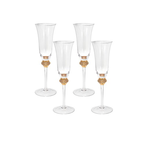 Champagneglas 4-pack