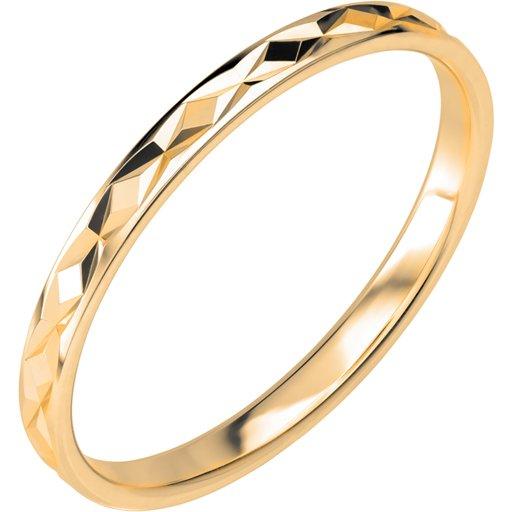 Förlovningsring i 18K guld 2mm