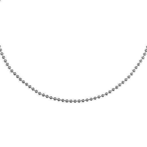 Kedja i äkta silver 45-50 cm