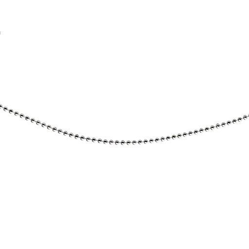 Kedja i äkta silver 80 cm