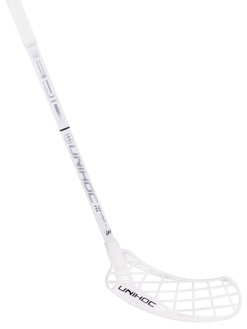 Unihoc Innebandyklubba EPIC Top Light II 26 white/silver