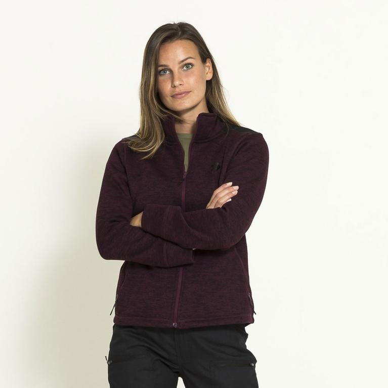 Duvberg / W Knitted Fleece Funktion Sweater