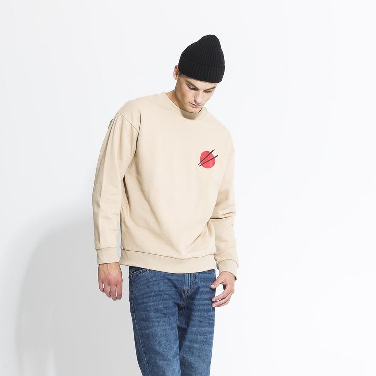 "Genser ""Printed Heavy Sweater"""