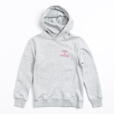 Haylee / K Cropped Hood Hood sweater