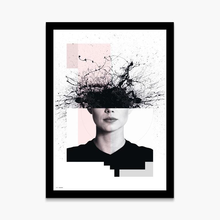 """Poster 50x70 """"Calm chaos"""""""