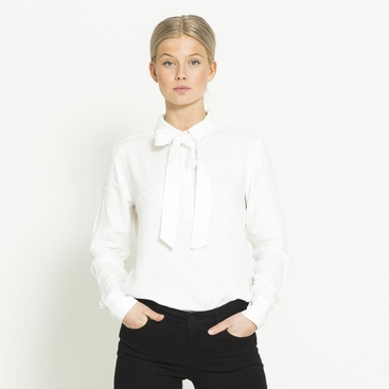 "Tie blouse ""Marigold"""