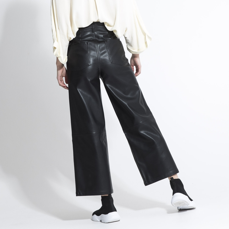 "Faux leather pants ""Kit"""