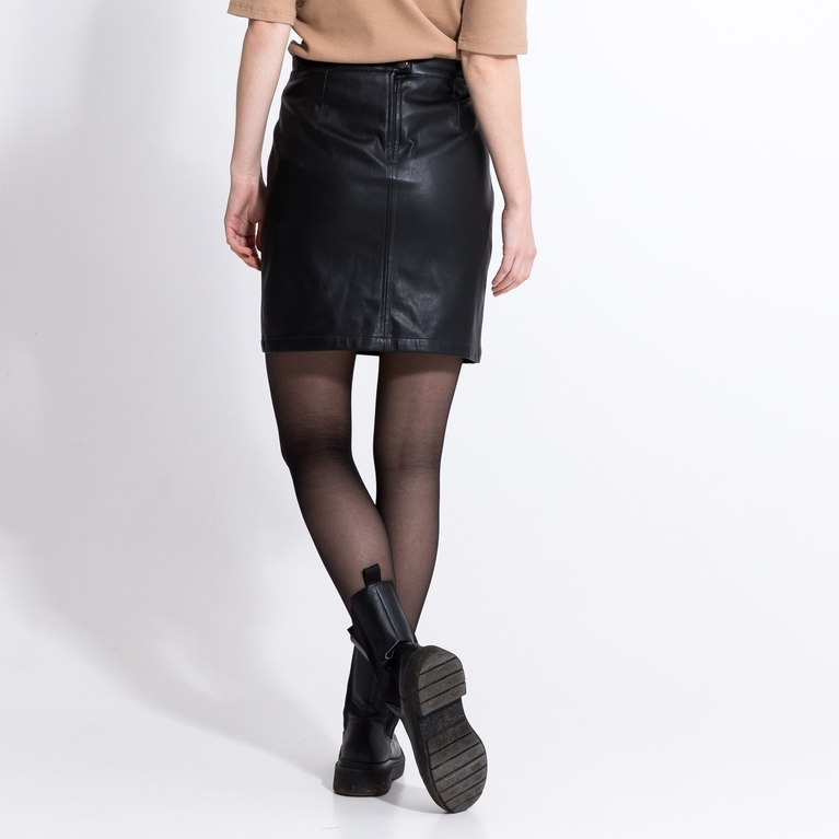 "Faux leather skirt ""Kate"""