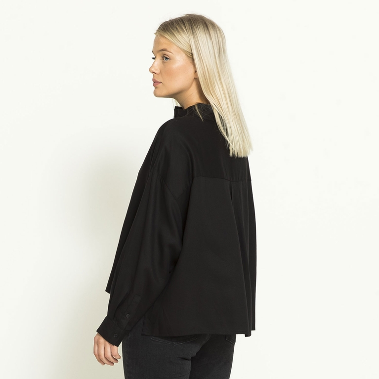 "Wide blouse ""Lyocell"""