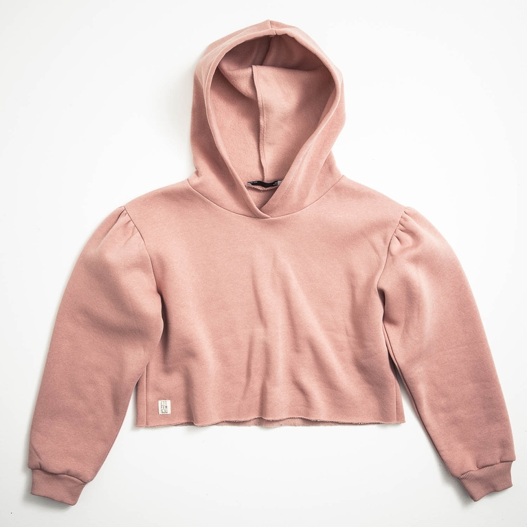 Peach Puff hood Star/ K Hoodie Hood sweater