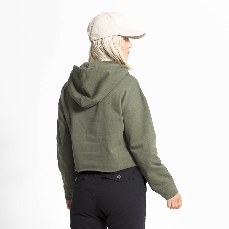 Peach / W Cropped Sweater Sweater