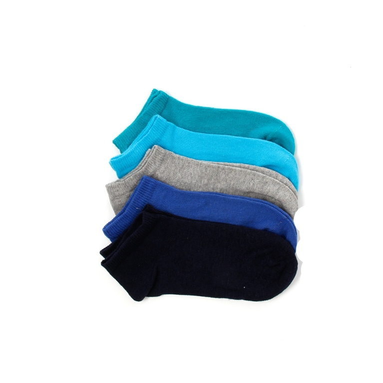 Low Cut Socks Kid's 5-pack/ K Socks Socks